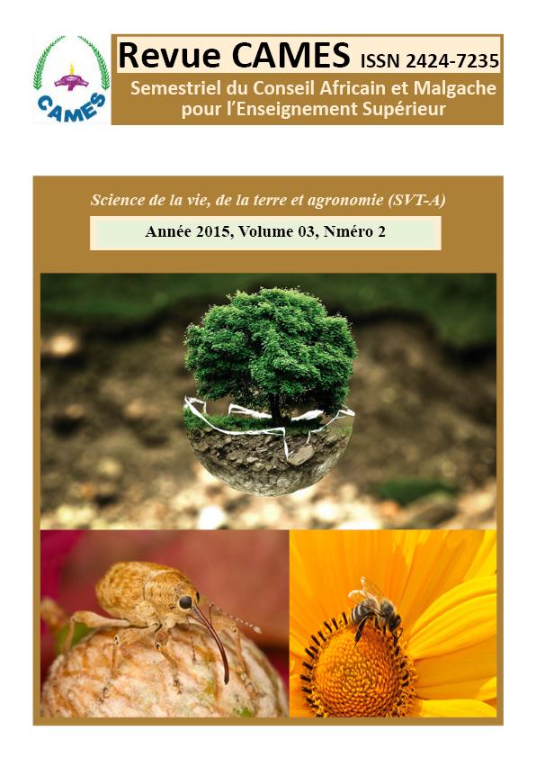 Page de gadre SVT-A Vol.3 Num.2 2015